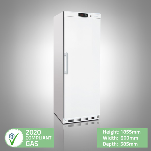 Upright White Storage Fridge