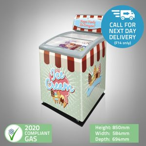 Ice-Cream Display Freezer