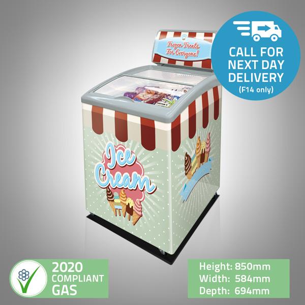 Ice-Cream Display Freezer