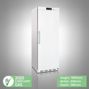 Upright White Storage Freezer