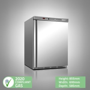 Stainless Steel Undercounter Freezer